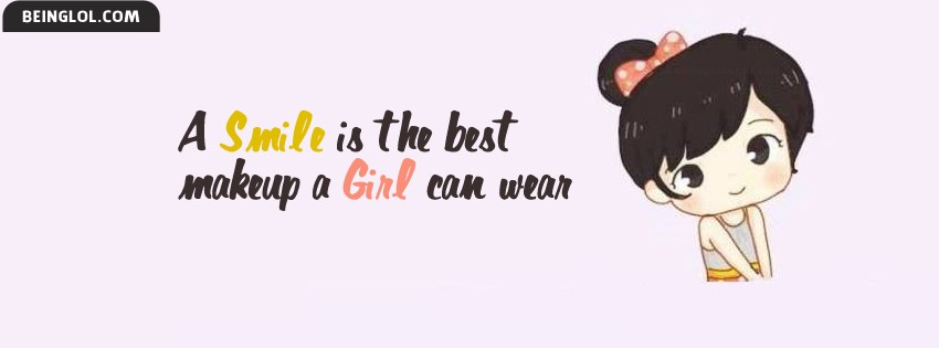 Cute Little Girl Facebook Cover