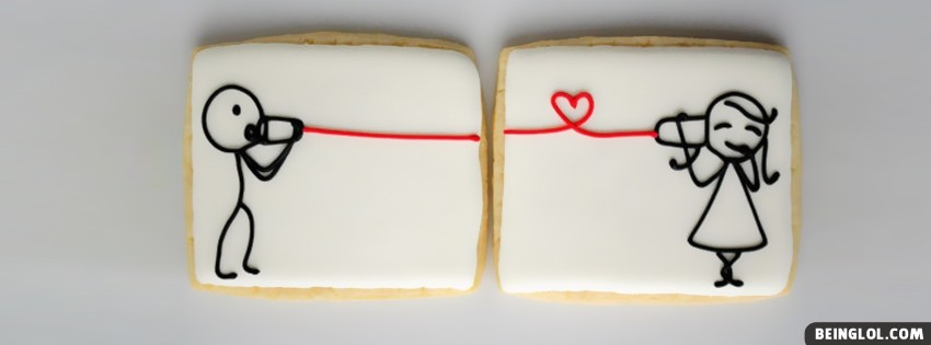 Cute Love Sandwich Facebook Cover
