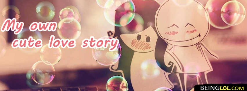Cute Love Story Facebook Cover