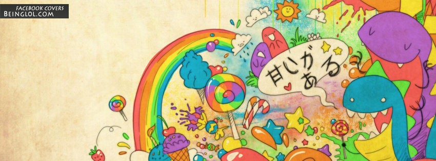 Cute Monsters Facebook Cover