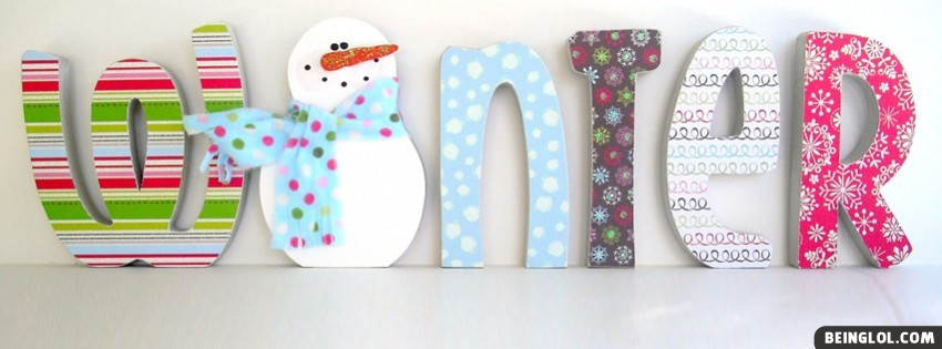 Cute Winter Facebook Cover