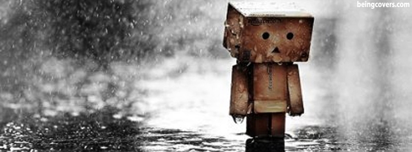 Cute But Sad Facebook Cover