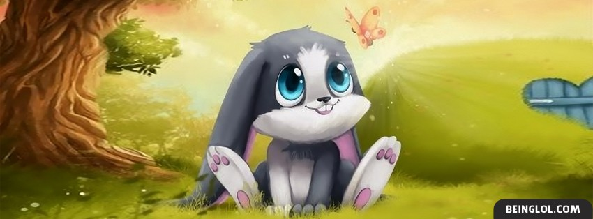 Cutest Bunny Ever Facebook Cover