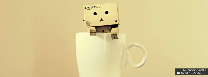 Danbo In A Cup Facebook Cover