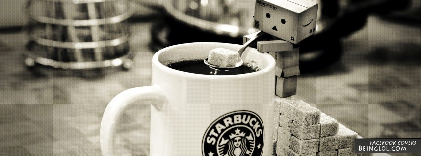 Danbo Starbucks Facebook Cover