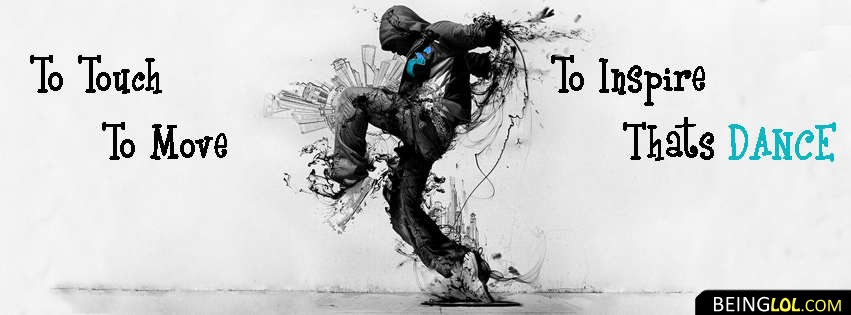 Dance Quote Timeline Cover Facebook Cover