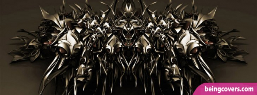 Dark Metal Facebook Cover