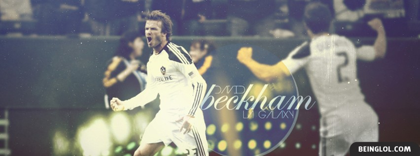 David Beckham Facebook Cover