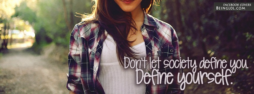 Define Yourself Facebook Cover