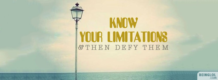 Defy Your Limitations Facebook Cover