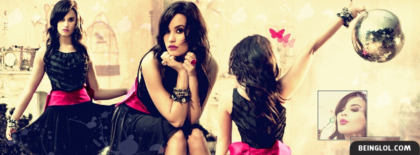 Demi Lovato 3 Facebook Cover