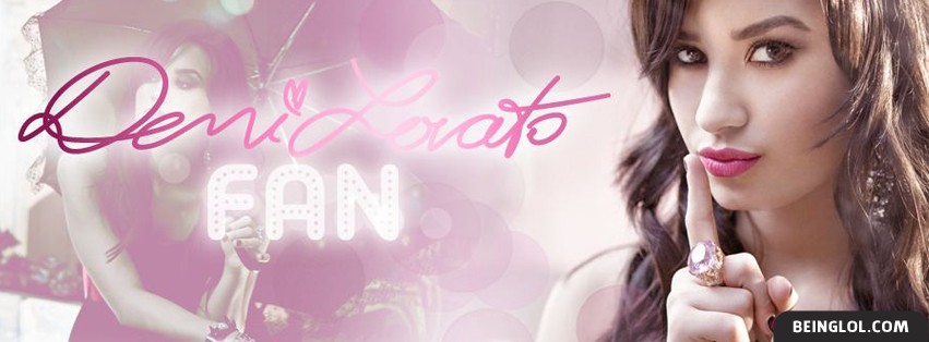 Demi Lovato Fan Facebook Cover