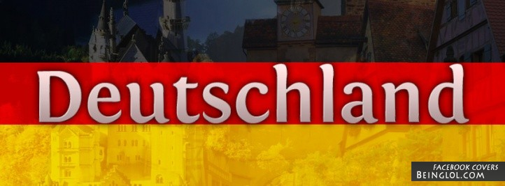 Deutschland Germany Flag Facebook Cover