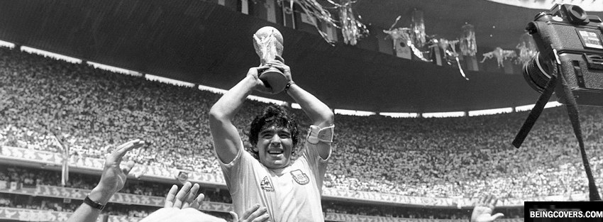 Diego MaradonaWorld Cup Facebook Cover