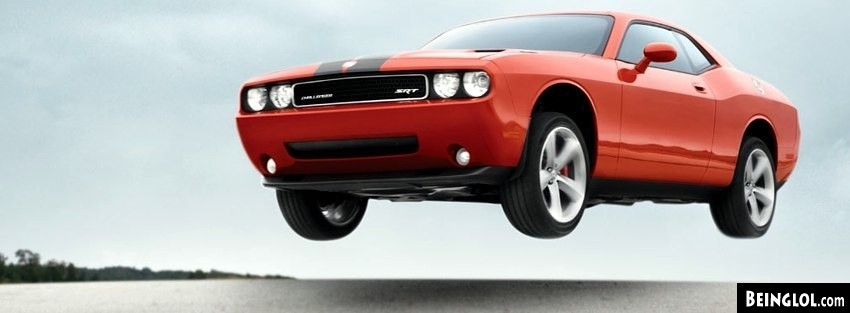 Dodge Challenger SRT8 304 Facebook Cover