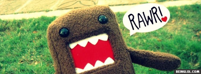 Domo Kun Rawr Facebook Cover