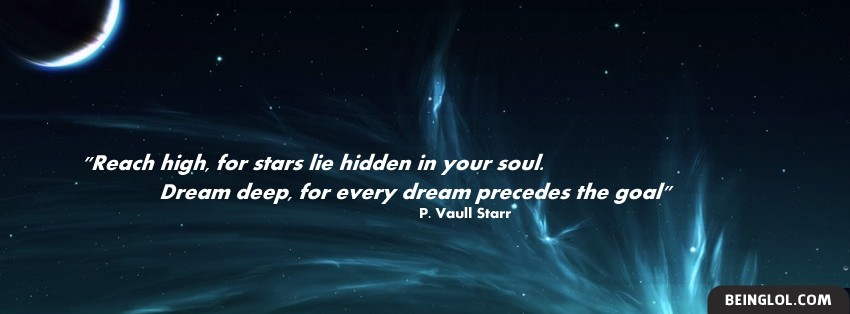 Dream Deep Facebook Cover