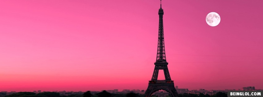 Eiffel Tower Paris Facebook Cover