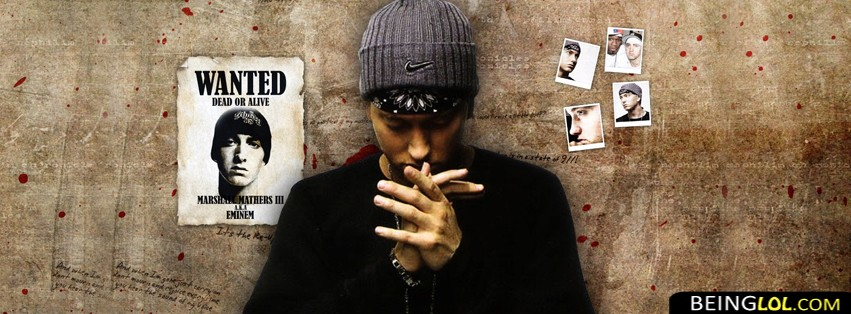 Eminem Rapper Fb Cover Cover