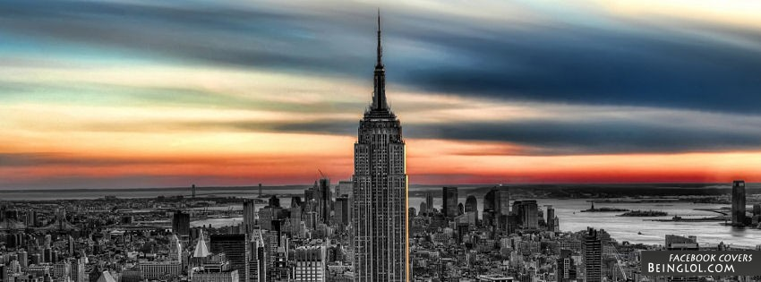 Empire State Building Facebook Cover