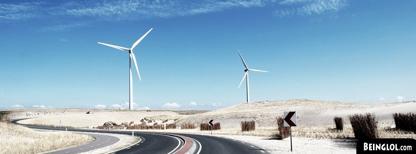 Energy Windmills Facebook Cover