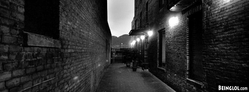 European Alley Way  Facebook Cover