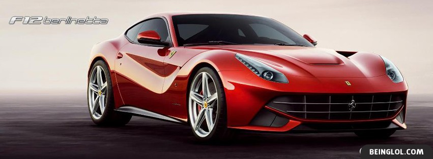 F12 Berlinetta Facebook Cover