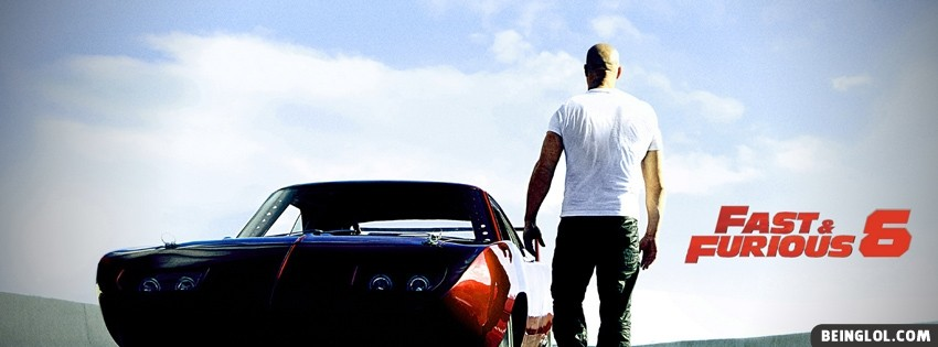 Fast And Furious 6 Facebook Cover