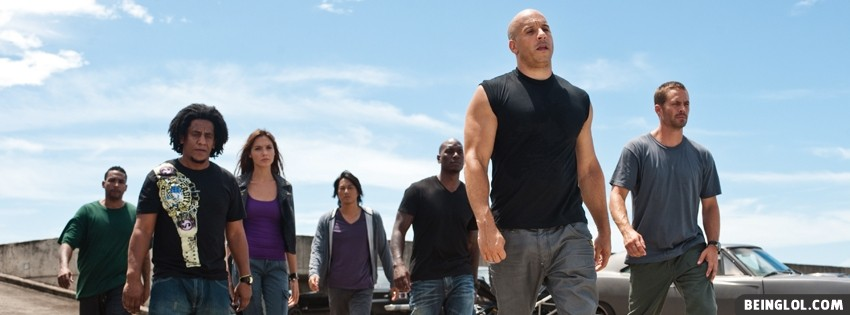 Fast Five Facebook Cover