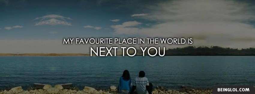 Favorite Place In The World Facebook Cover