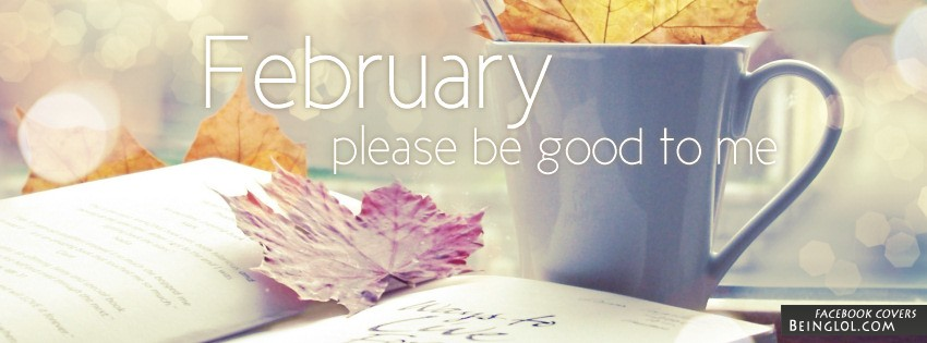 February Please Be Good To Me Facebook Cover