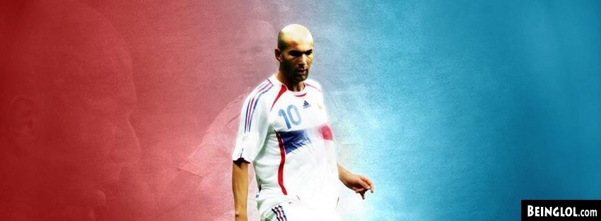 Fifa Zinedine Zidane France Facebook Cover