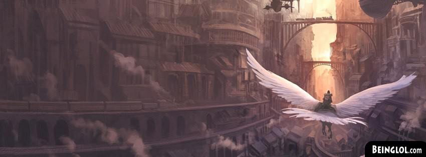 Flight Fantasy Art Facebook Cover