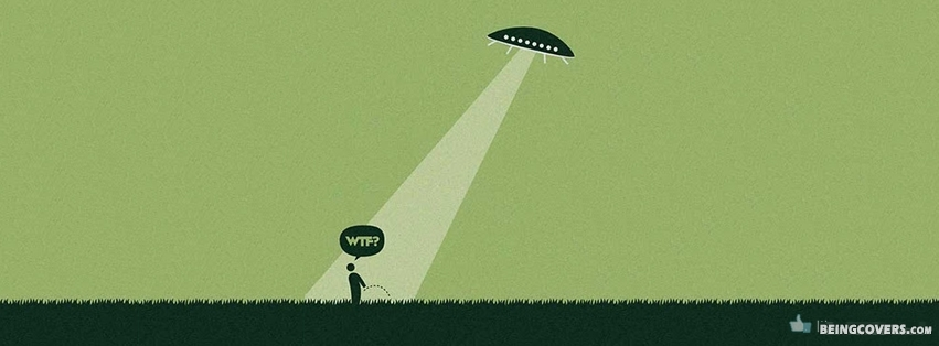 Funny Alien Facebook Cover