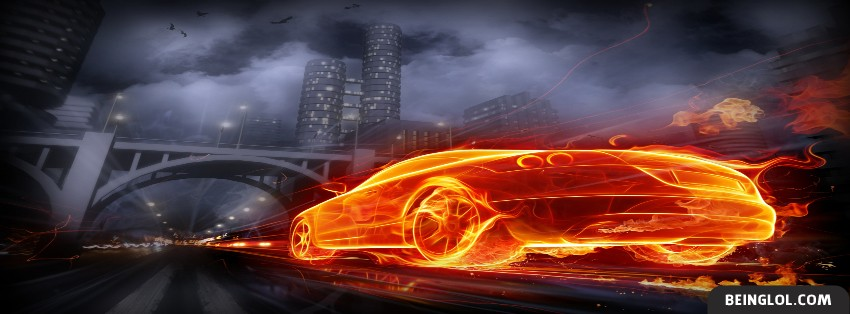 Furious Car Facebook Cover