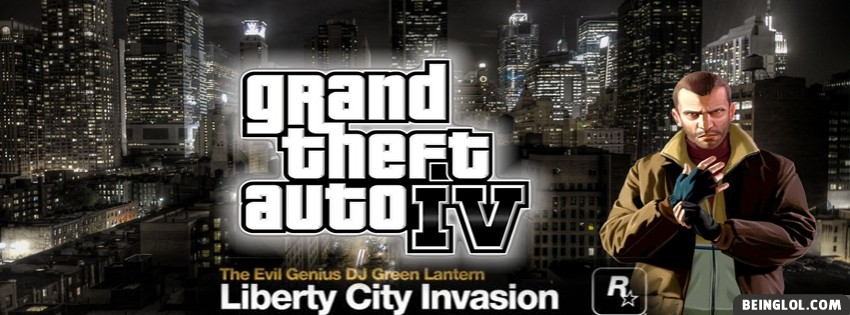 GTA 4 Facebook Cover