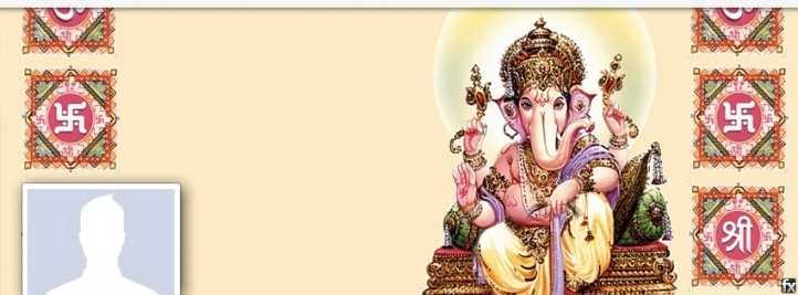 Ganesha God Of Wisdom Facebook Cover