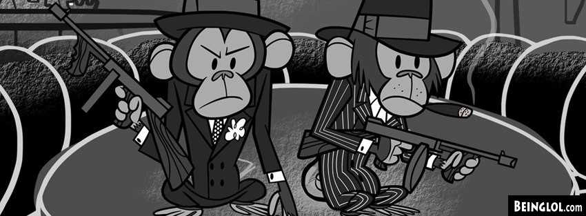 Gangsta Chimps Facebook Cover