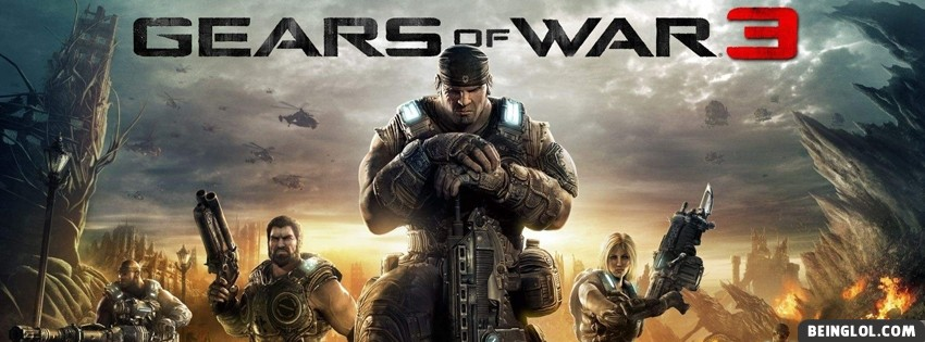 Gears Of War 3 Facebook Cover