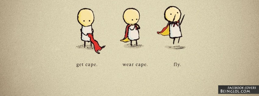 Get Cape Wear Cape Fly Facebook Cover