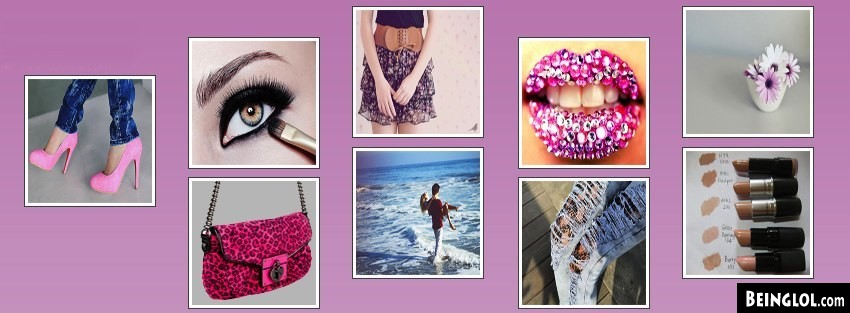 Girl Collage Facebook Cover