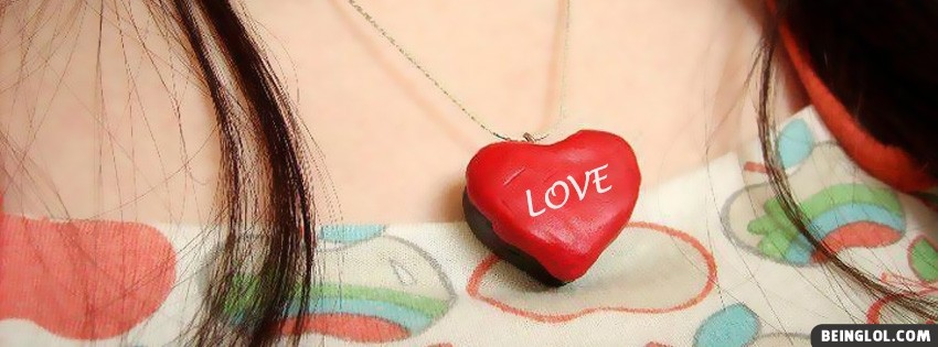 Girl Heart Love Facebook Cover