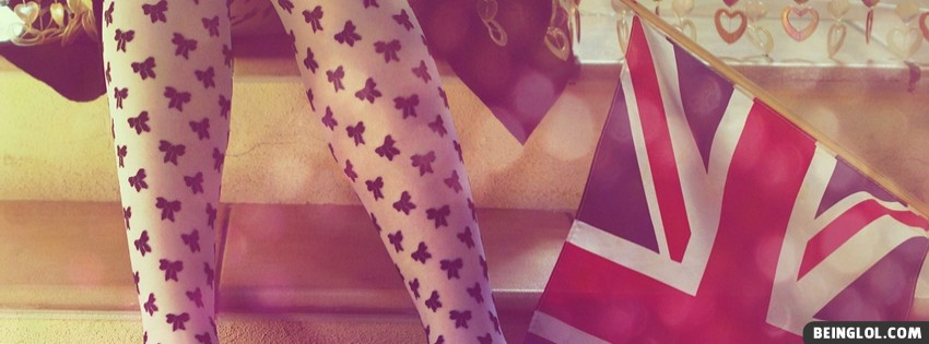 Girl Leggings Facebook Cover