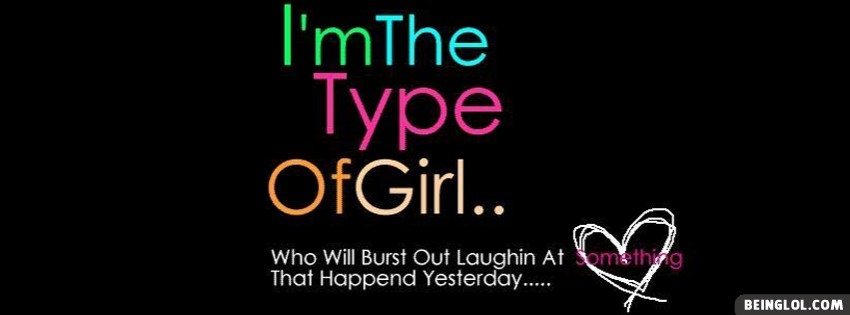 Girl Quote Facebook Cover