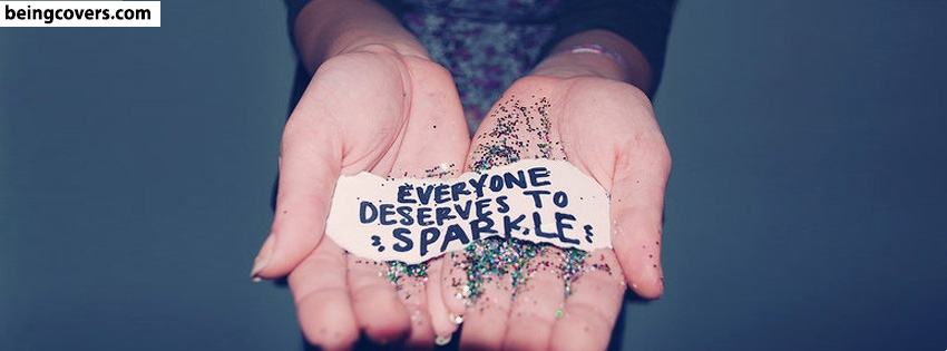 Girl Sparkle Facebook Cover