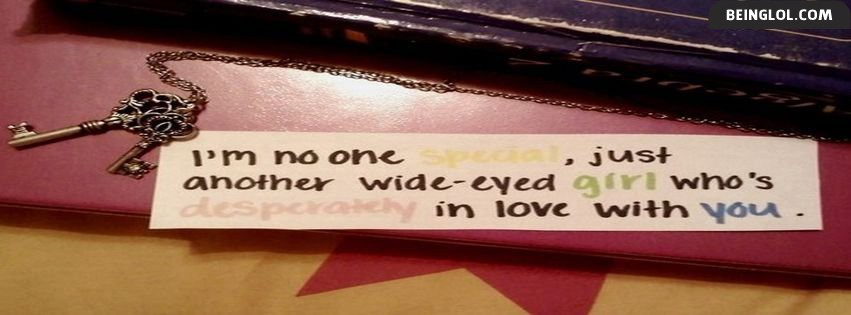 Girls Quote Facebook Cover