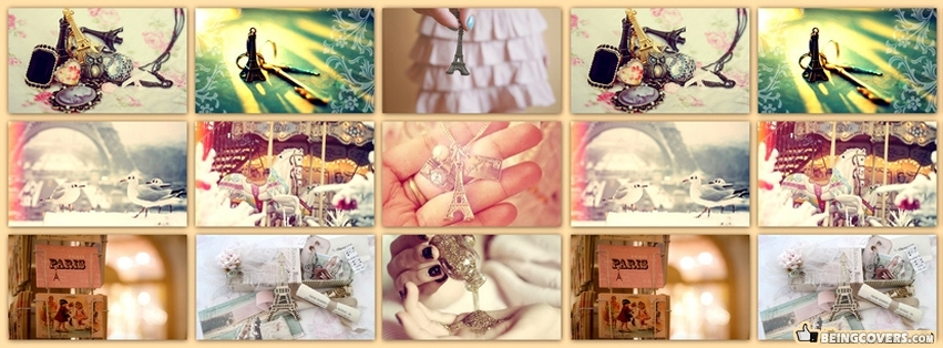 Girly Collage Facebook Cover