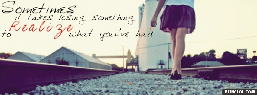 Girly Quote Facebook Cover