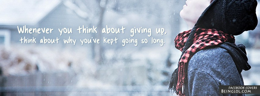 Giving Up Facebook Cover