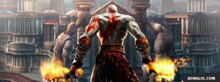 God Of War 2 Facebook Cover